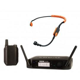 GLXD14E/SM31-Z2 - дигитален микрофон за глава за аеробика, танци и фитнес инструктори